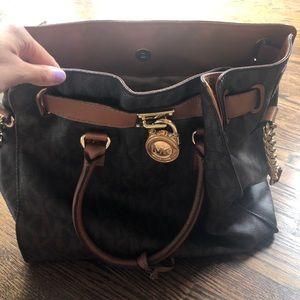 MICHAEL KORS ▪️ Hamilton Large Logo Bag